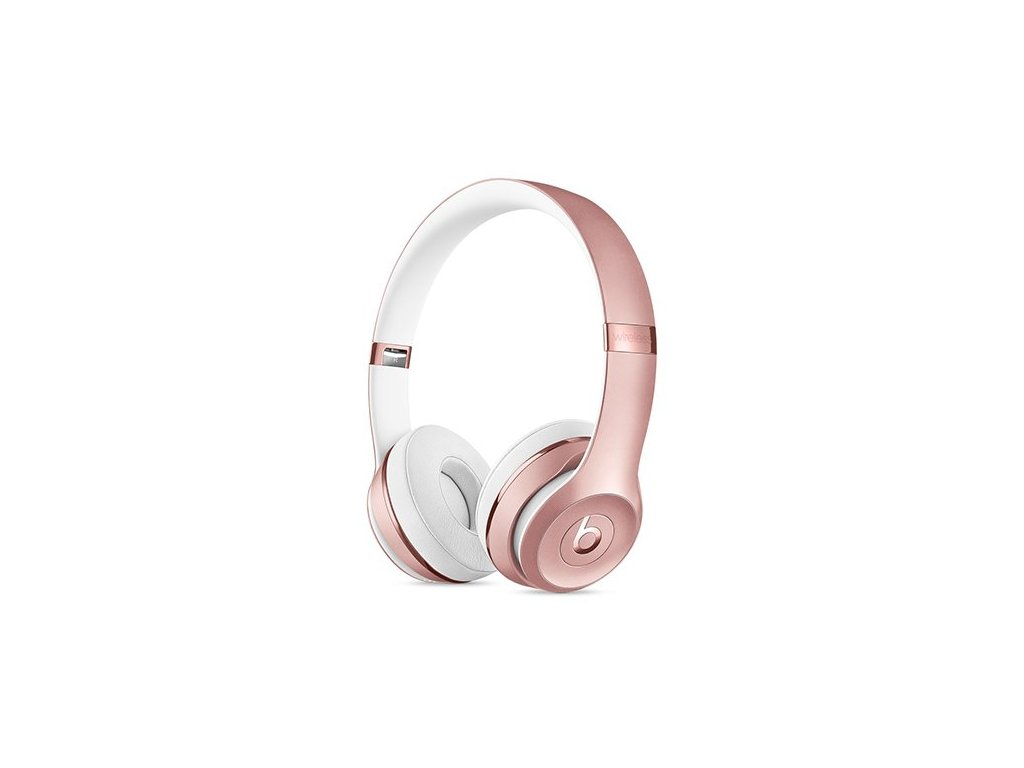 beats solo3 wireless on ear headphones rose gold sluchadla i85655