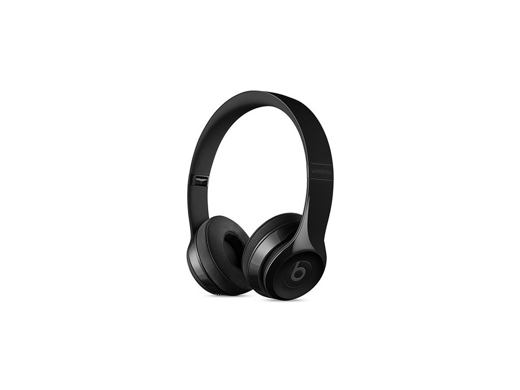 beats solo3 wireless on ear headphones gloss black sluchadla i85658